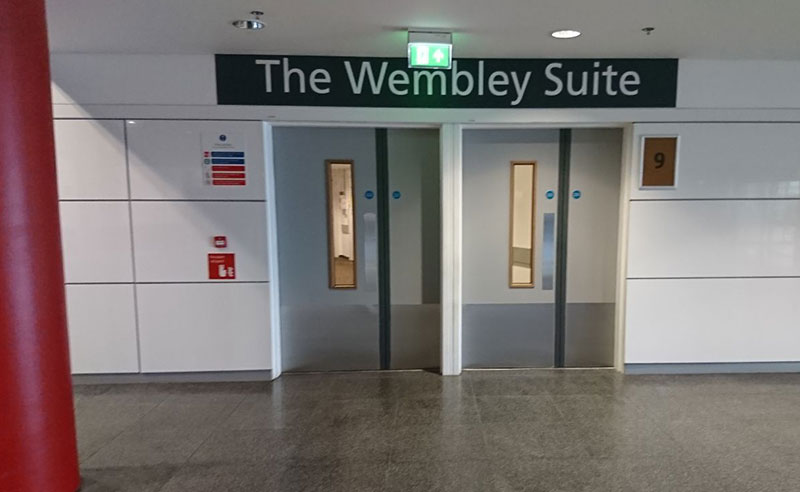 fire stopping and fire door works at Wembley Stadium