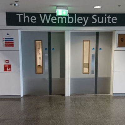 Wembley Stadium Fire Door image